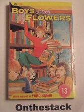 MANGA:    Boys over Flowers (Hana Yori Dango) Vol. 13 by Yoko Kamio (2005)