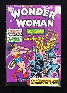 WONDER WOMAN #160 (02/66) 1ST SILVER AGE APP CHEETAH DC COMICS SOLID BOOK VG+