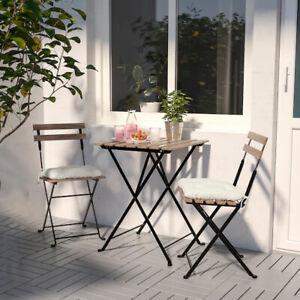 Ikea TÄRNÖ Balkonset Terasse Gartenmöbel Bistroset Sitzgruppe Tisch +2 Stühle