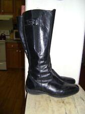 NERO GIARDINI WOMEN'S ITALIAN BOOTS  US 7  Black Leather  Zipper
