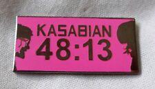 **NEW** Kasabian '48.13' enamel badge.Oasis,Mod,Indie,eez-eh, les-tah