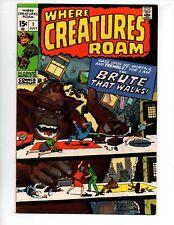 "Where Creatures Roam #1 (Jul 1970, Marvel) VF/NM 9.0 ""KIRBY/AYERS-C/A(R)"""