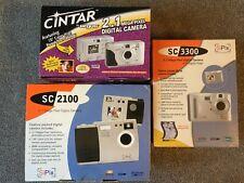 One (1) Vintage Digital Camera●2.1 or 3.3MP●SiPix/Cintar by Argus●Never Unpacked