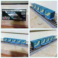 Modellismo: 2 Vagoni merci Kato porta conteners articolo 10-317,