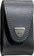 Victorinox Black Leather Belt Pouch Made To Fit The VN53504 Swiss Champ XLT