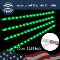 4 X 30cm 5050 LED Strip Light 12V Car Van White Blue Red Green Warm White Pink
