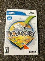 uDRAW Pictionary game - Nintendo Wii - Brand New Factory Sealed - Free Shipping