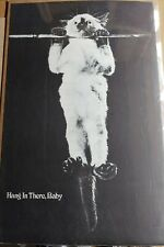 HANG IN THERE BABY VINTAGE CAT POSTER 1970S VINTAGE ORIGINAL HEAD SHOP POSTER