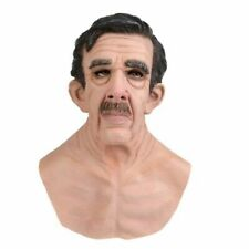 Liuyb Realistic Old Man Mask for Adult Halloween Mask
