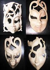 Handmade Art Deco Style Decorative Masks