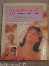 Massage for Common Ailments By Penny Rich Book