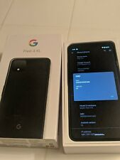 Google Pixel 4 XL  64GB - Just Black NO RESERVE