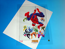 Spider-Man And His Spectacular Villains Lithograph Marvel Comics Romita Cel