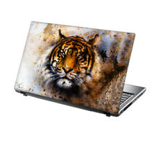 "TaylorHe 13""-14"" Laptop Skin Vinyl Sticker Decal Protection Cover Tiger Animal"