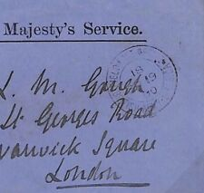 Q206 Boer War Cover 1900 MILITARY OFFICIAL British *FPO.18* GB Used SOUTH AFRICA