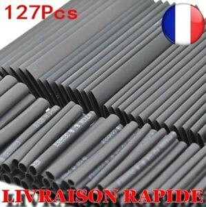 127 Pz Manicotti Tubi Termica Retrattile 2:1 Kit Elettronico Cavo