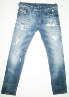 *HOT AUTHENTIC Men DIESEL @ THAVAR 830K Slim SKINNY STRETCH DISTRESS Jeans 31x32