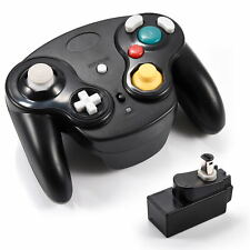 For GameCube NGC Wii Console Wavebird Game Controller and Receiver 2.4G Wireless