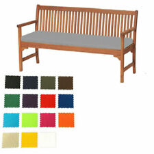Outdoor 3 Seater Garden Bench Cushion  Patio Furniture Pads Waterproof 6cm Thick