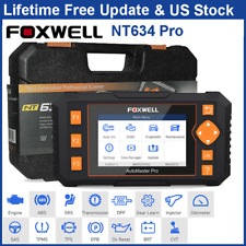 Foxwell NT634 Pro Car OBD2 Diagnostic Scanner Code Reader ABS SRS TPMS DPF Oil