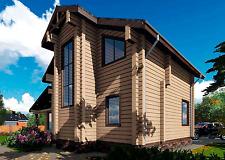 Blockhaus Bausatz aus Zedernholz Rohbaumontage möglich
