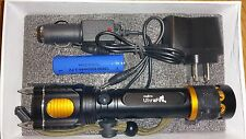 Ultrafire Military Grade Tactical Flashlight Attack Head Alarm X200 T2000 Style