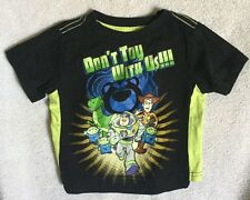 "Disney Baby Toy Story Infant Shirt Size 18 Mo ""Don't Toy With Us"" 100% Cotton"