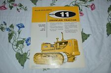 Fiat Allis Chalmers HD-11 Crawler Tractor Dealers Brochure YABE11 Ver41