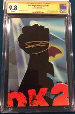 FRANK MILLER SIGNED Dark Knight Strikes Again #1 CGC 9.8 COMIC BOOK Not CBCS DK2