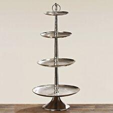 XXL a ripiani 117cm Altezza 4 argento colorato metallo etagerie piatto per dolci