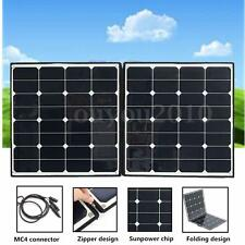 Elfeland 100W Portable Folding Solar Panel Battery Charger For Camping RV Boat