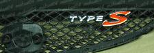02-04 TYPE-S FRONT EMBLEM ACURA RSX DC5 / HONDA INTEGRA JDM Pre Facelift Custom
