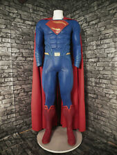 "Justice League Superman Costume ""Light Blue"" w/ Muscle Suit"