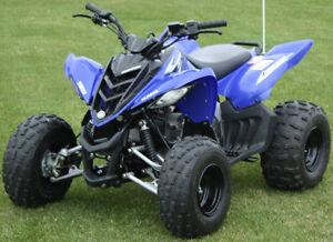 Pre-2014 Yamaha Raptor 90 A-arms & Shocks ATV Bolt-on Suspension Widening Kit +6