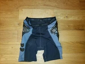 G-Form Pro-B Compression Shorts PADDED Mountain Bike Black/Gray Mens XL