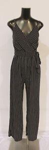 Kaileigh Women's Stitch Fix Rochelle Knit Pocket Jumpsuit LV5 Black Size XS NWT