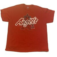 Los Angeles Angels XL Men's MLB Genuine Merchandise T Shirt Red