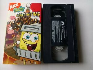 Spongebob Squarepants - Lost in Time (VHS, 2006)