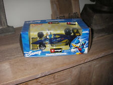Walt Disney Formula Bburago Donald duck Formule 1 Burago