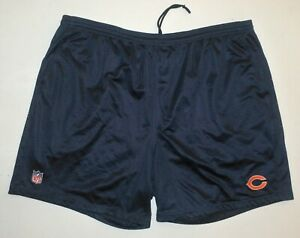 Mens 3XL NFL Reebok Onfield Team Issued Pull Up Shorts Chicago Bears