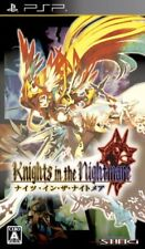Used PSP Knights in the Nightmare  Japan Import ((Free shipping))、
