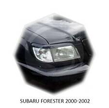 Subaru Forester Eyebrows SF Restyle Postface 2000-2002 Eyelids Unpainted 2 pcs
