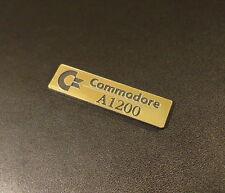Commodore Amiga 1200 Label / Logo / Sticker / Badge 49x13 mm [263b]