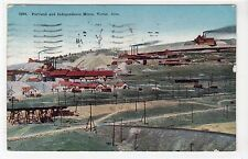 PORTLAND AND INDEPENDENCE MINES, VICTOR: Colorado USA postcard (C14887)