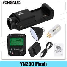 YONGNUO YN200 TTL HSS 2.4G 200W Flash With Battery USB Type C For Canon Nikon