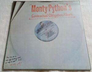 """Monty Python's Contractual Obligation Album - 12"""" Vinyl Album - 1st press 1980"""