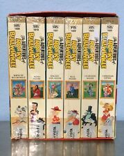 THE ADVENTURES OF ROCKY AND BULLWINKLE VHS 6 VOLUME VHS  BOX SET BOX BUENA VISTA