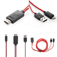 Hot MHL Micro USB to HDMI 1080P HDTV Cable Adapter for Samsung Galaxy S5 S4