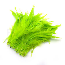 """SCHLAPPEN FEATHERS 5-7"""" - Spey Hackle Salmon Steelhead Fly Tying - 13 COLORS!"""