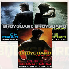 Chris Bradford Bodyguard Collection 3 Books Set(Hostage,Ransom,Ambush) New PB
